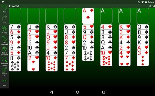 Скриншот 250+ Коллекция пасьянсов для Андроид