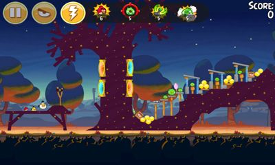 Приложение Angry Birds Seasons: Abra-Ca-Bacon для Андроид