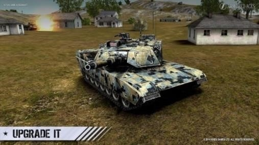 Скриншот Armored Aces — 3D Tanks Online для Андроид
