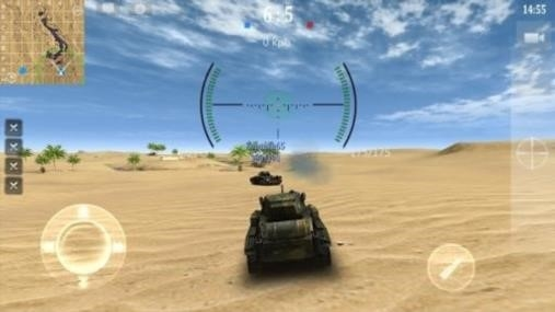 Armored Aces — 3D Tanks Online для Андроид