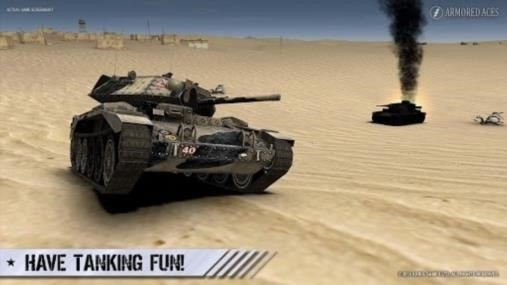Приложение Armored Aces — 3D Tanks Online для Андроид