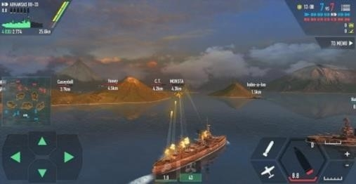 Call Of Warships: World Duty для Android