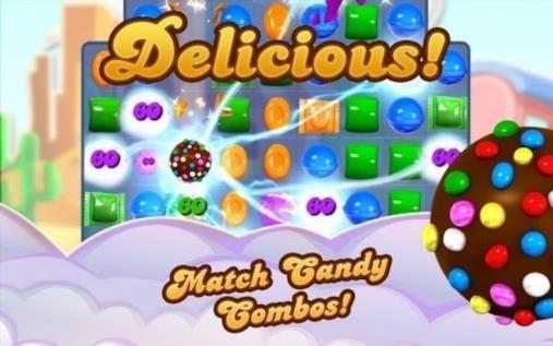 Приложение Candy Crush Saga для Андроид