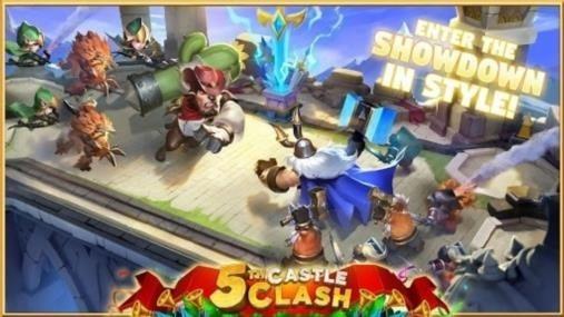 Скриншот Castle Clash для Андроид