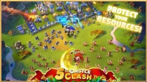 Приложение Castle Clash для Андроид