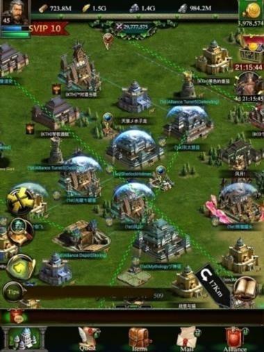 Приложение Clash of Kings для Андроид