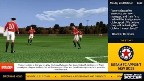 Приложение Dream League Soccer для Андроид