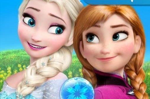 Frozen Free Fall для Андроид скачать бесплатно