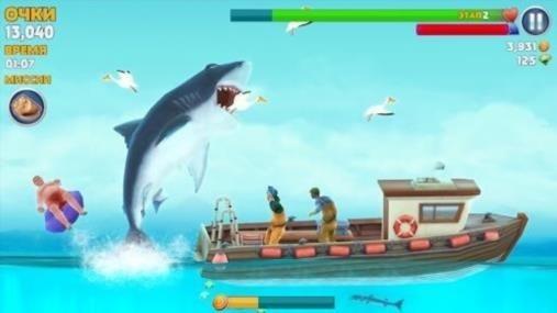 Скриншот Hungry Shark Evolution для Андроид