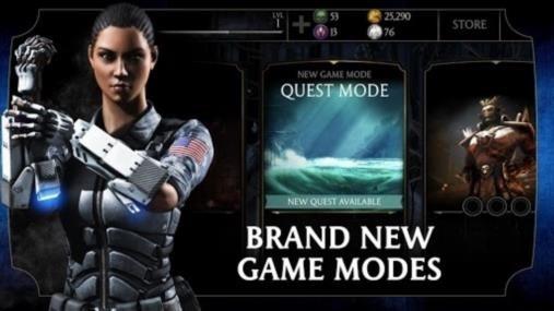 Скриншот Mortal Kombat X для Андроид