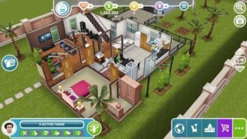 Скриншот The Sims FreePlay для Андроид