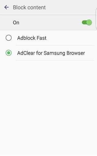 Приложение AdClear для Андроид