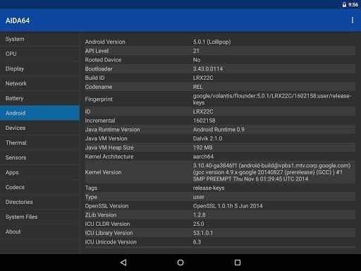 AIDA64 Premium для Android
