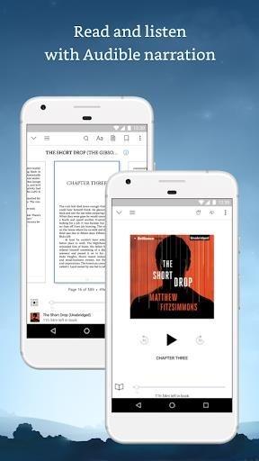 Приложение Amazon Kindle для Андроид