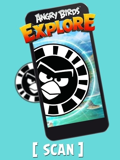 Приложение Angry Birds Explore для Андроид