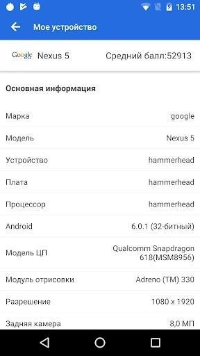 Приложение AnTuTu Benchmark для Андроид