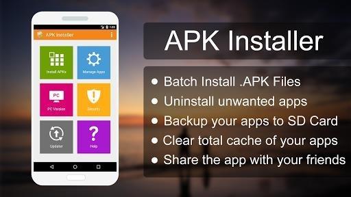 Скриншот APK INSTALLER PRO для Андроид