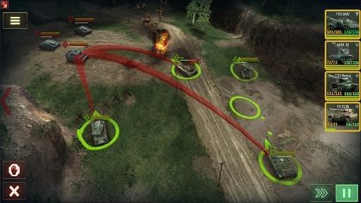 Armor Age: Tank Wars для Android