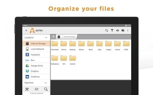 Скриншот ASTRO File Manager Pro для Андроид