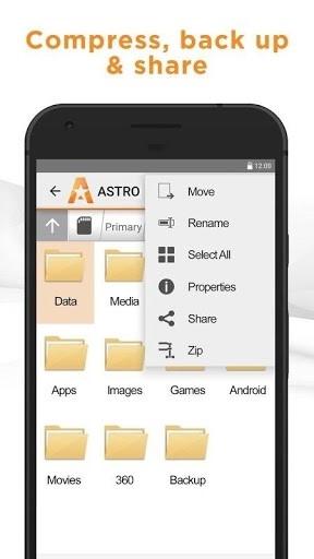 ASTRO File Manager Pro для Андроид
