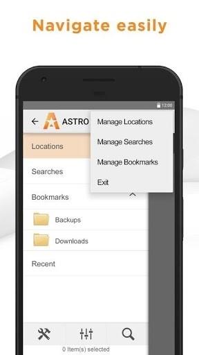 Приложение ASTRO File Manager Pro для Андроид