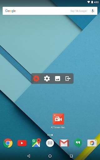 AZ Screen Recorder — No Root для Android