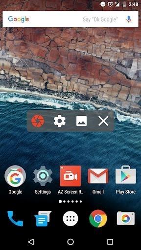 Приложение AZ Screen Recorder — No Root для Андроид