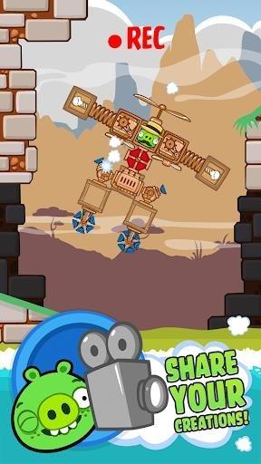 Bad Piggies HD для Андроид