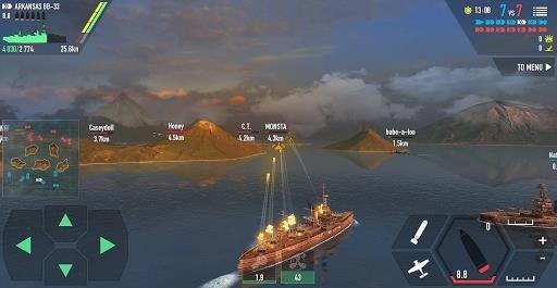Приложение Battle of Warships для Андроид