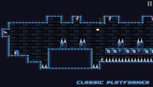Blu Escape — Hardcore Platformer для Android