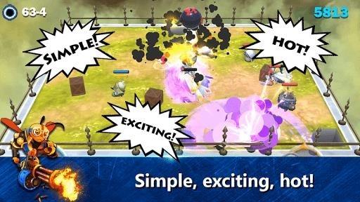 Скриншот Bugs Infinity War для Андроид
