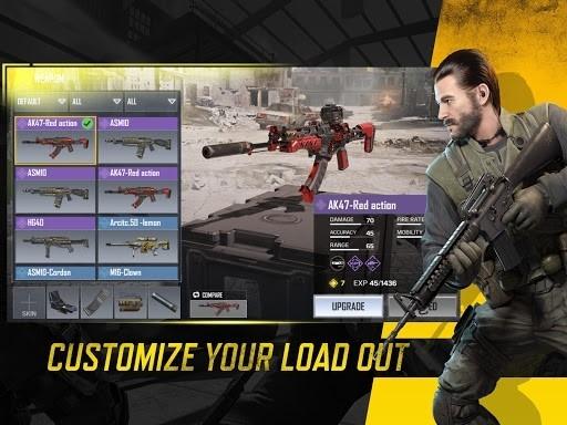 Приложение Call of Duty®: Mobile для Андроид