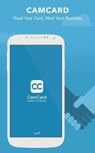 Скриншот CamCard — Business Card Reader для Андроид