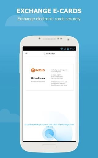 CamCard — Business Card Reader для Android
