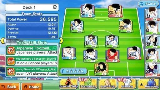 Скриншот Captain Tsubasa: Dream Team для Андроид