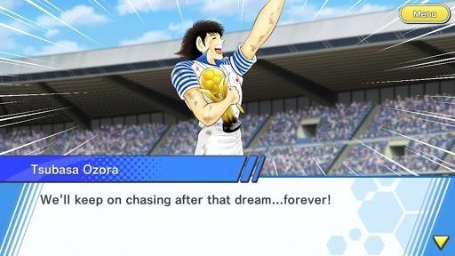 Приложение Captain Tsubasa: Dream Team для Андроид