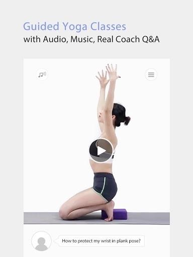 Скриншот Daily Yoga (Ежедневная йога) — Yoga Fitness App PRO для Андроид