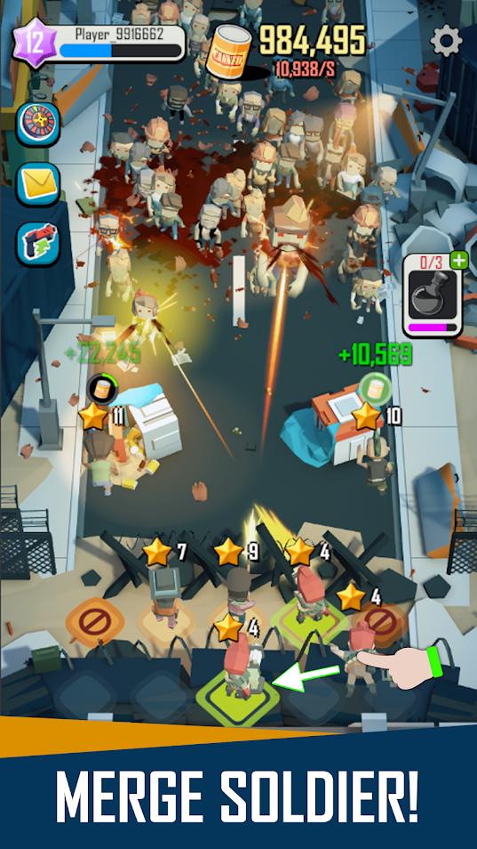 Скриншот DeadSpreading: IdleGame для Андроид