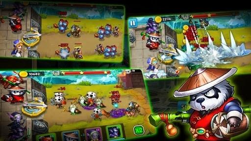 Defender Heroes: Castle Defense — Epic TD Game для Андроид