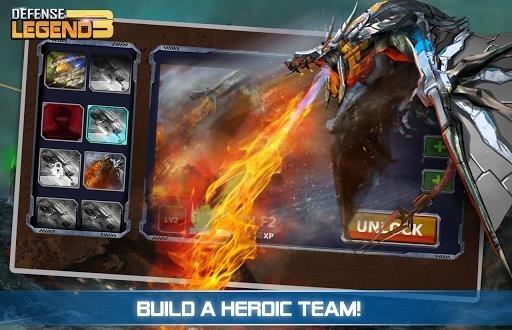 Скриншот Defense Legend 3: Future War для Андроид