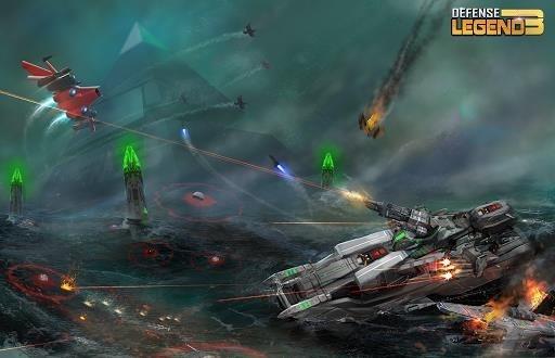 Приложение Defense Legend 3: Future War для Андроид