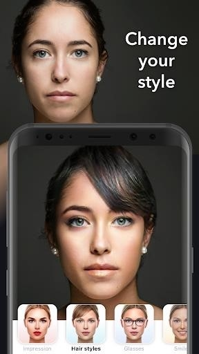 Скриншот FaceApp для Андроид