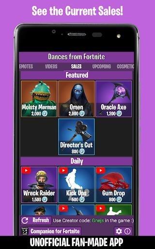 Скриншот Fortnite для Андроид