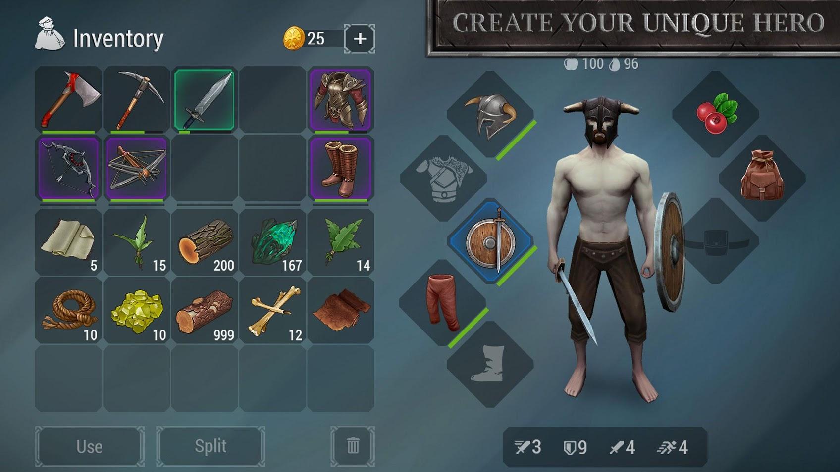 Скриншот Frostborn для Андроид