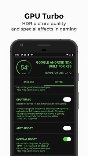 Скриншот Game Booster 4x Faster для Андроид