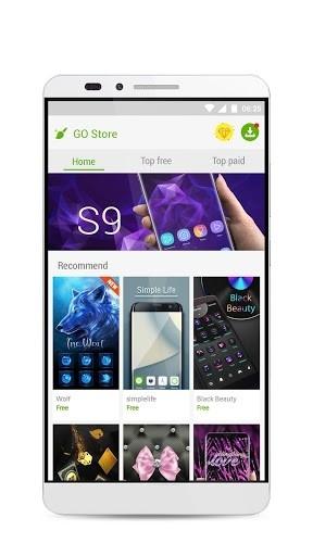 Go Launcher для Андроид