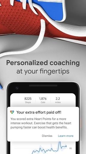 Google Fit для Андроид