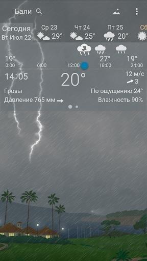 Я.Погода для Android