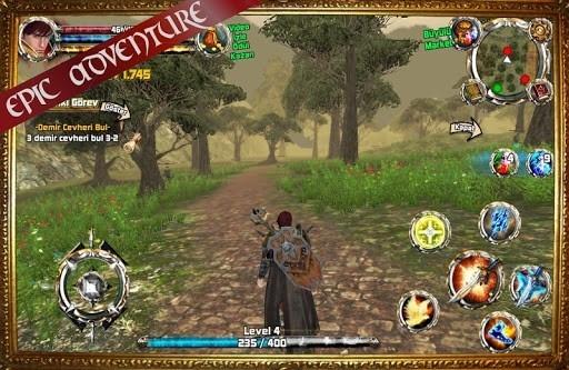 Скриншот Kingdom Quest 3D RPG для Андроид