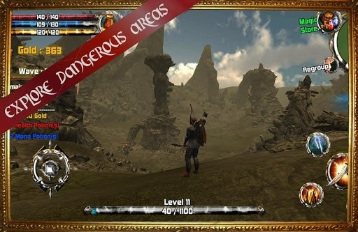 Приложение Kingdom Quest 3D RPG для Андроид